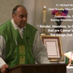 Fr. Voigt Sermon 22nd Sunday After Penetcost 2017